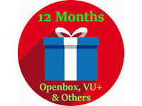 iptv 12 month subs for overbox android mag enigma boxes not a skybox