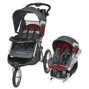 Baby trend jogging stroller and car seat
