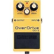 Boss od-3 BETTER THAN BOSS SD-1 SEE REVIEWS boss od3 boss overdrive pedal