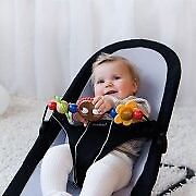 Babybjorn babysitter balance bouncer with wooden toy