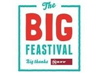 The Big Feastival Tockets