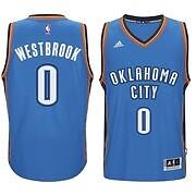 Russell Westbrook jersey stitched Size large