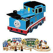 Thomas the Train Deluxe Roundhouse Set, Train table and MORE!