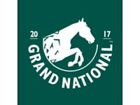 3x Grand National tickets Sat 8th April