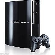 Sony Playstation 3 (Ps3) Console - 80 GB - Two Controllers - Black - NO Games