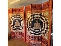 Buddha room dividers/screens for sale