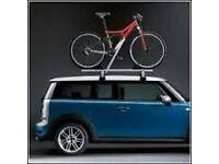 mini car alloy roof rack twin