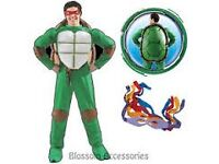 TEENAGE MUTANT NINJA TURTLE FANCY DRESS SIZE SAYS STANDARD WOULD SAY ABOUT A MEDIUM