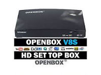 NEW OPENBOX V8S WITH 12 MONTH GIFT