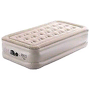 Single roots inflatable mattress
