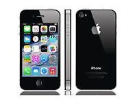 iPhone 4s black unlocked