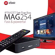 Mag254. Mag256. Avov 4k. Global 4k. Buzz 4k set top iptv box