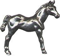 4 wholesale lead free pewter Horse figurines F6031