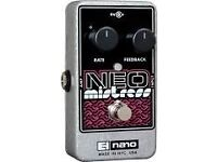 electro harmonix neo mistress flanger pedal (not boss, mxr)