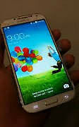 SAMSUNG S4 CRACKED GLASS ( REDUCED PRICE )