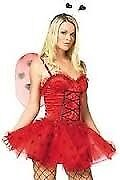 LADYBIRD FANCY DRESS OUTFIT SIZE 12/14 GREAT FOR PARTY OR HEN DO