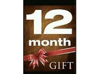 openbox skybox enigma 12 mnth gifts reseller offer