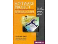 Software project survival guide: how to make sure your first important project isn't your last