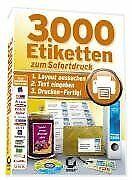 3.000 Etiketten zum Sofortdruck von Sybex-Verlags- u... | Software | Zustand neu