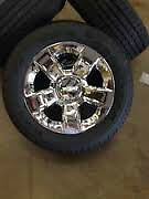 """2014-2015 20"""" CHEVROLET OR GMC RIMS AND TIRES"""