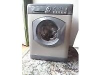 11 Hotpoint WML760 7kg 1600 Spin Silver A Rated Washing Machine 1 YEAR GUARANTEE FREE DEL N FIT