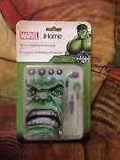 Marvel Hulk Earbuds With Travel Pouch