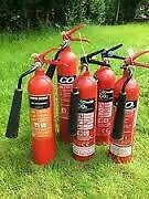 Fire extinguisher co2 ex hire, full up.