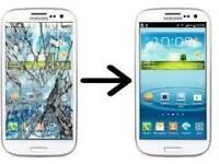 Smartphone Screen Repair: Nexus4, LG G2, HTC, Blackberry, Moto G