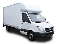 Cheap man with van delivery service van hire removal short notice call text