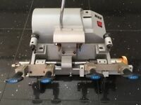 £850 . Key Cutting Machine. RST TM800. Dual Cutting Mortice and Cylinder Keys.. C1 and C2 keyboards