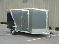 Looking for a 7' x 12' enclosed trailer