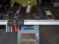 "10"" King Table saw KC-10RC and Dust collector"