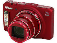 NIKON COOLPIX S9700 - Camera used for 2 months for trip - NEW