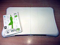 Nintendo Wii fit board and game Both working