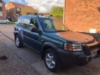 Land Rover freelander 2.0 Turbo Diesel.