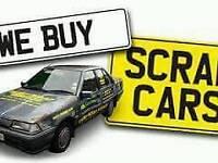 Scrap cars wanted we also buy scrap metal