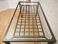 Ikea GRANAS Glass Dining Table with Display Shelf & 4 FREE Chairs / Can Deliver