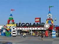 2 x Legoland tickets Monday 1st October 2018 for adult or child