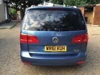 Volkswagen touran 7 seater bluemotion