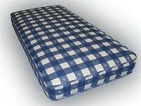 Brand New Single Great Value Basic Comfy Mattress in Blue 2 Available FREE delivery