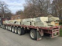 BEAUTIFUL-- Armour STONE -- Direct from QUARRY to your HOME