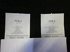 Discount Marks and Spencers gift vouchers credit vouchers - 25% off face value