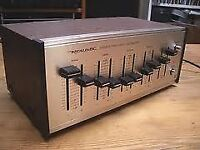 Vintage REALISTIC 5 BAND STEREO FREQUENCY EQUALIZER