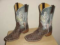 Ladies Tin Haul Cowboy Boots Size 8.5