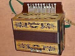 VOGTLANDER DIATONIC BUTTON ACCORDION