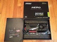 Nvidia GeForce GTX 1080 MSI Aero OC