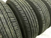225/60/16 All season tires for sale.