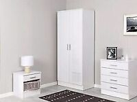 🔵💖🔴CHEAPER PRICE🔵💖🔴ALINA 2 DOOR WARDROBE & BEDROOM SET- GOOD QUALITY IN A VERY CHEAP PRICE
