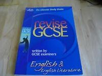 Letts revision GCSE English and English Literature