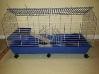 Three Foot Fancy Cage W All Accessories Inc.